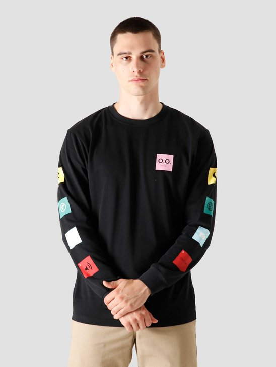 FreshCotton Out Of Options Longsleeve Black