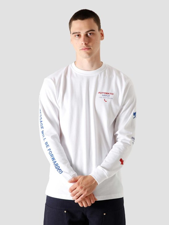 FreshCotton Out Of Reply Longsleeve White