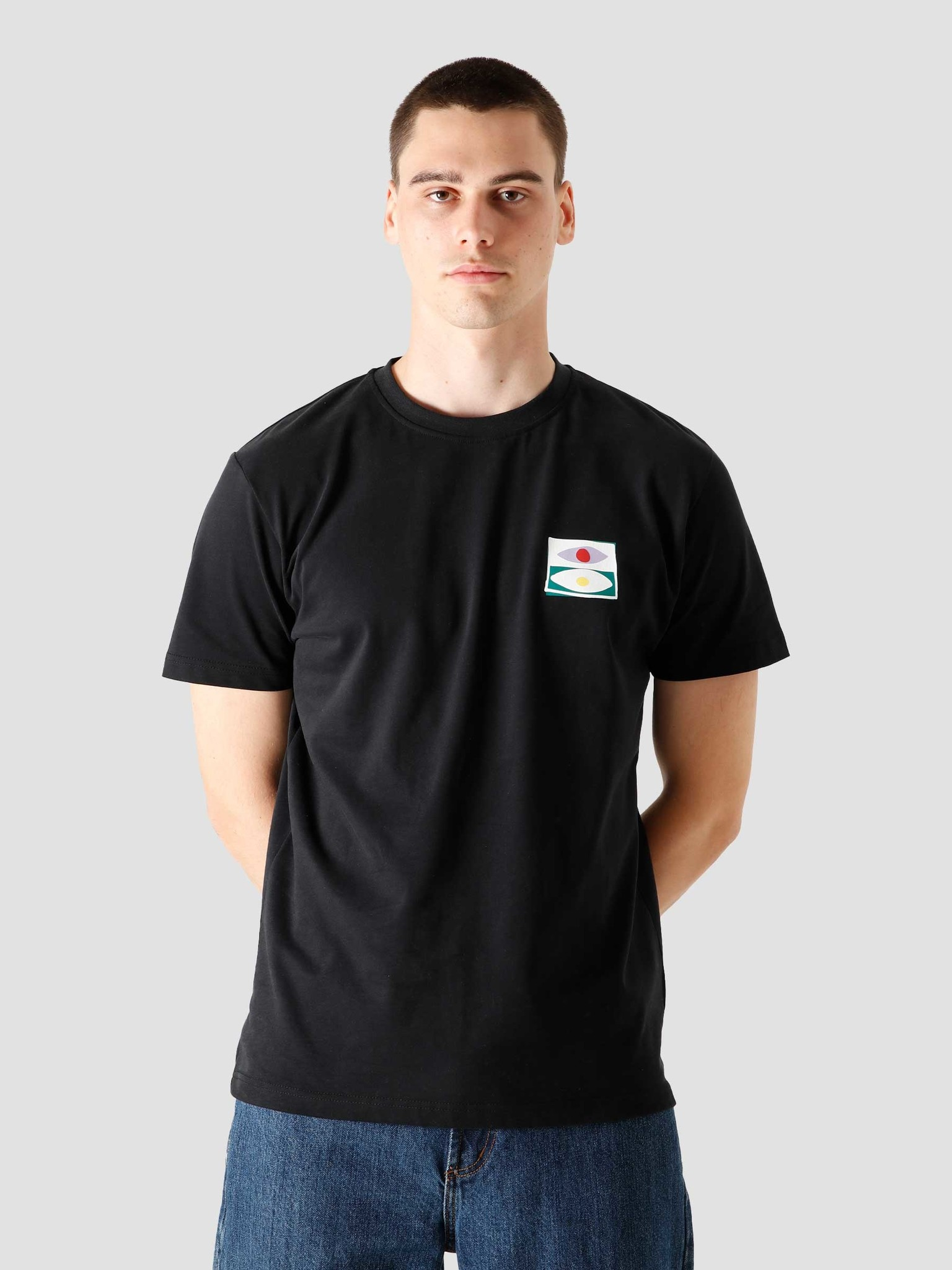 FRESHCOTTON FreshCotton Out Of Sight T-shirt Black