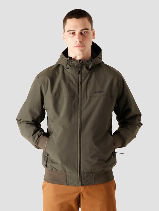 Carhartt WIP Hooded Sail Jacket Cypress Black I028436-6300