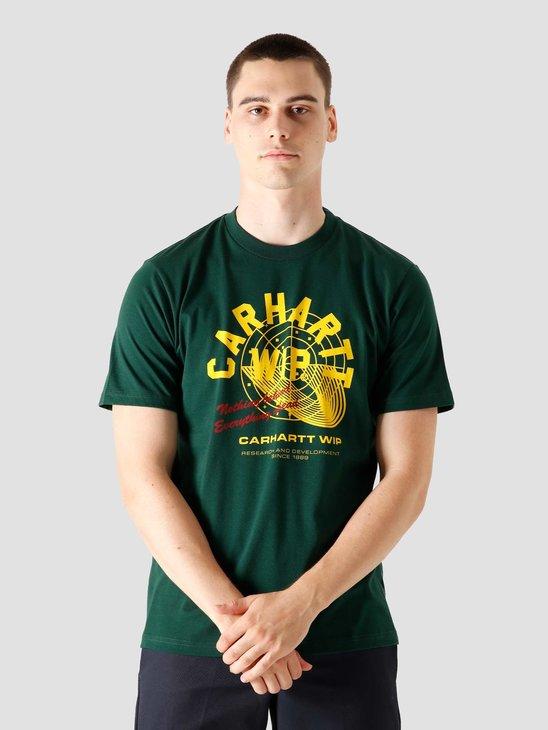 Carhartt WIP  Remix T-Shirt Green I028485 3C00