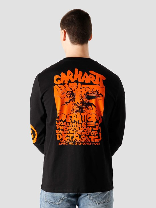 Carhartt WIP International Operations T Black I028467 8990