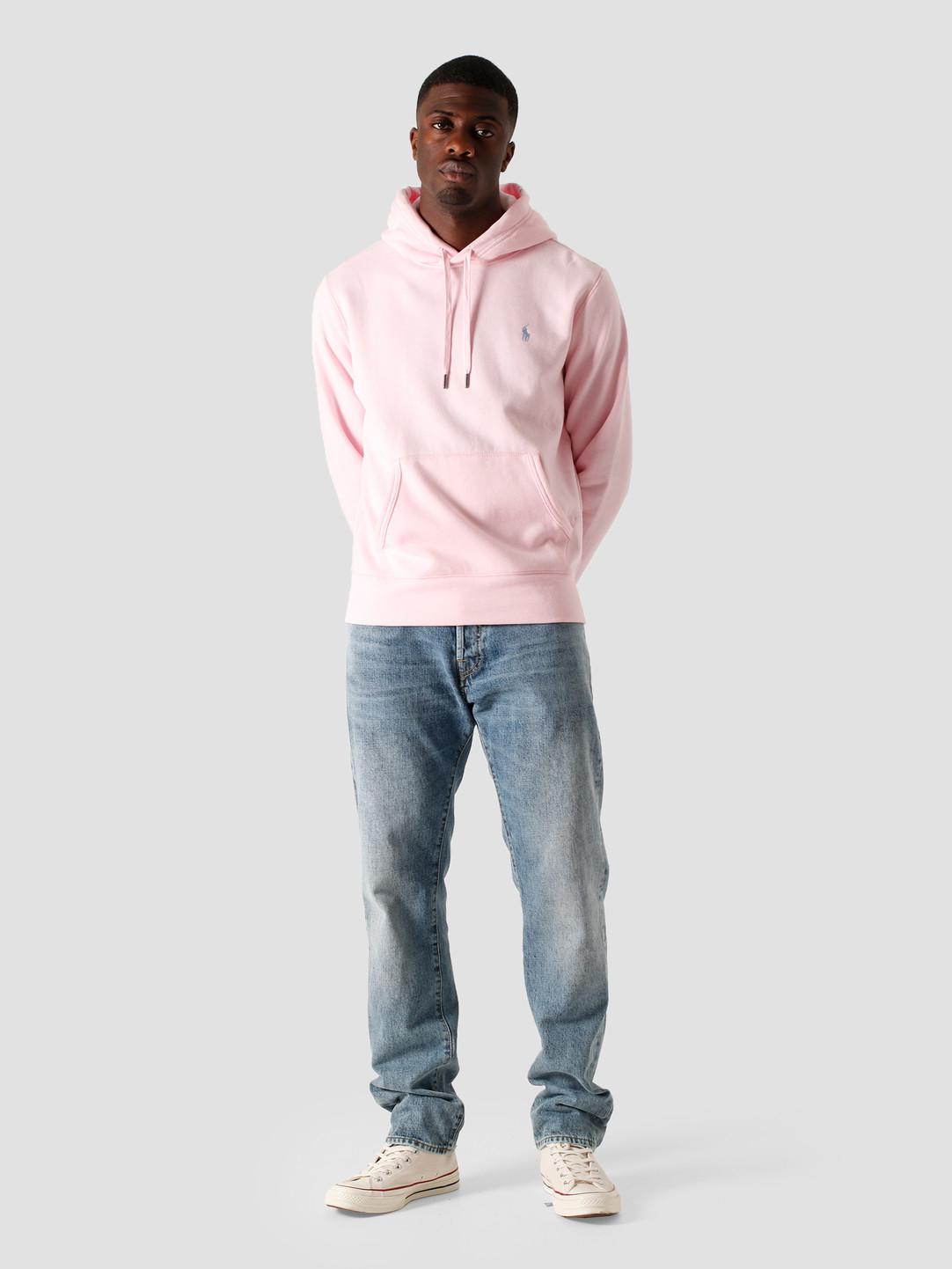 Polo Ralph Lauren Polo Ralph Lauren Lt Wt Magic Fleece Knit Bath Pink-C7156 710815485003