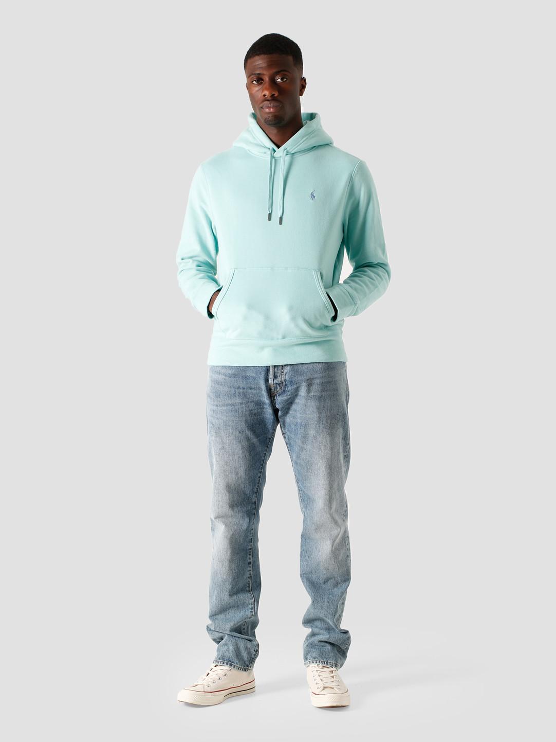 Polo Ralph Lauren Polo Ralph Lauren Lt Wt Magic Fleece Knit Bayside Green-C7350 710815485001