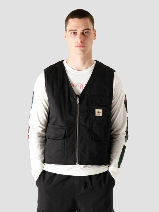 Stussy Insulated Work Vest Black 115535-0001