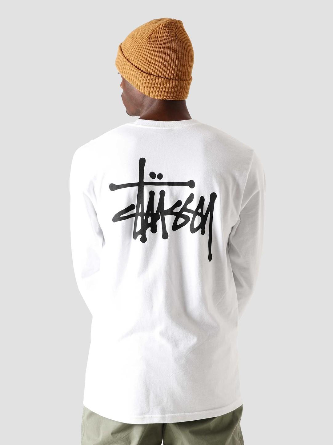 Stussy Stussy Basic Stussy Longsleeve White 1994567-1201