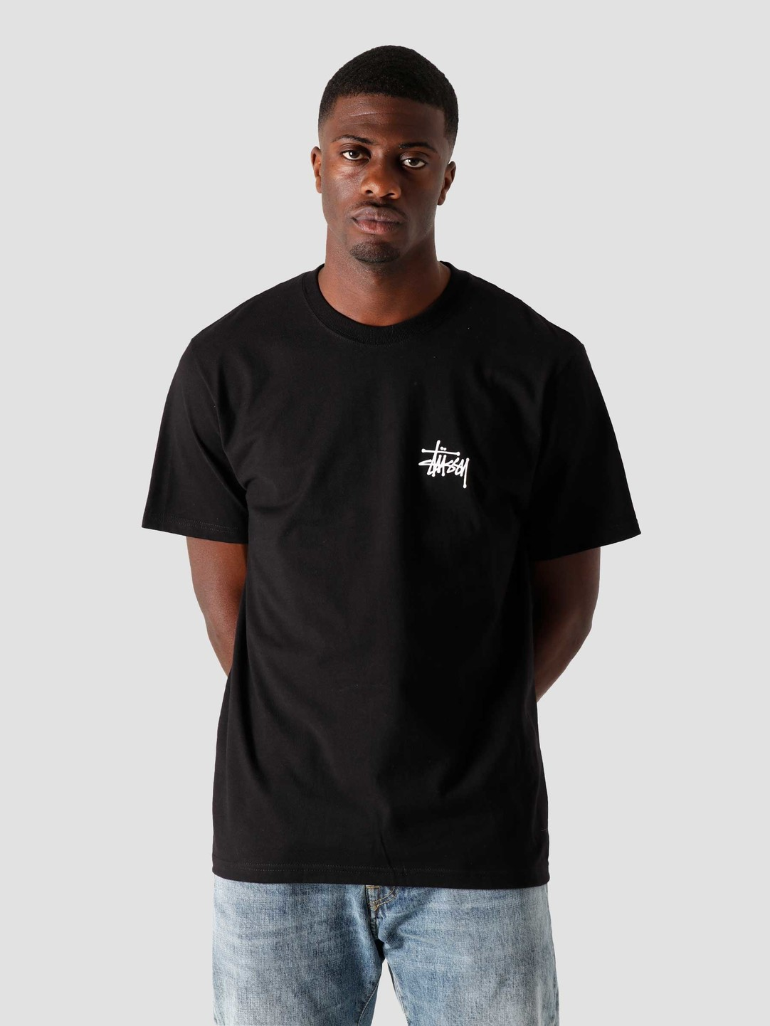 Stussy Stussy Basic Stussy T-Shirt Black 1904567-0001