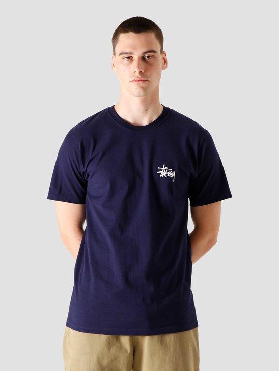Stussy Basic Stussy T-Shirt Navy 1904567-0806