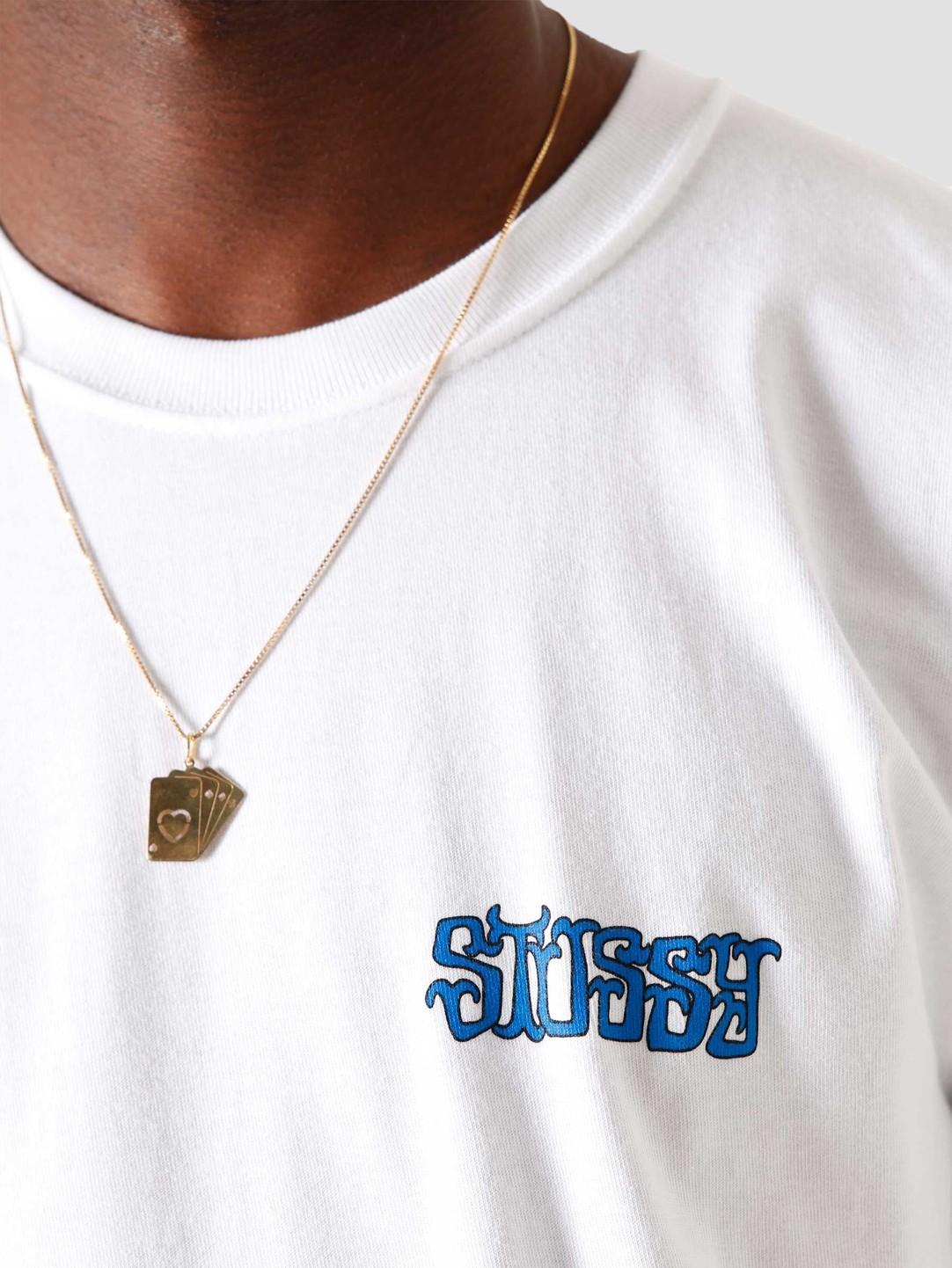 Stussy Stussy Gambit T-Shirt White 1904572-1201