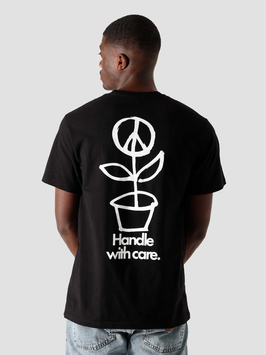 Stussy Peace Pot T-Shirt Black 1904578-0001