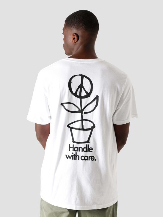 Stussy Peace Pot T-Shirt White 1904578-1201
