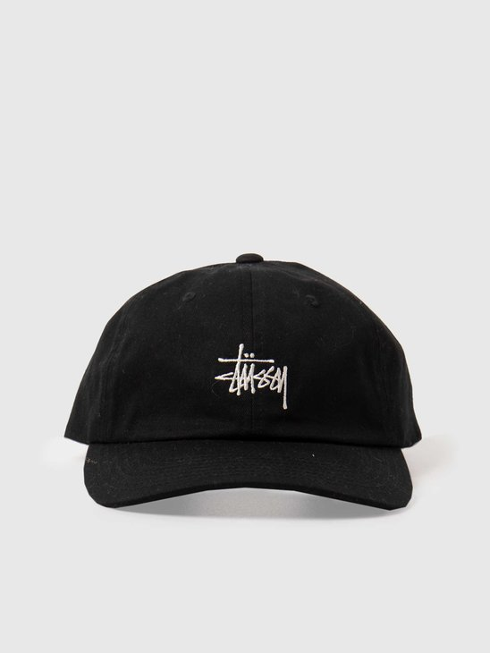 Stussy Stock Low Pro Cap Black 131955-0001