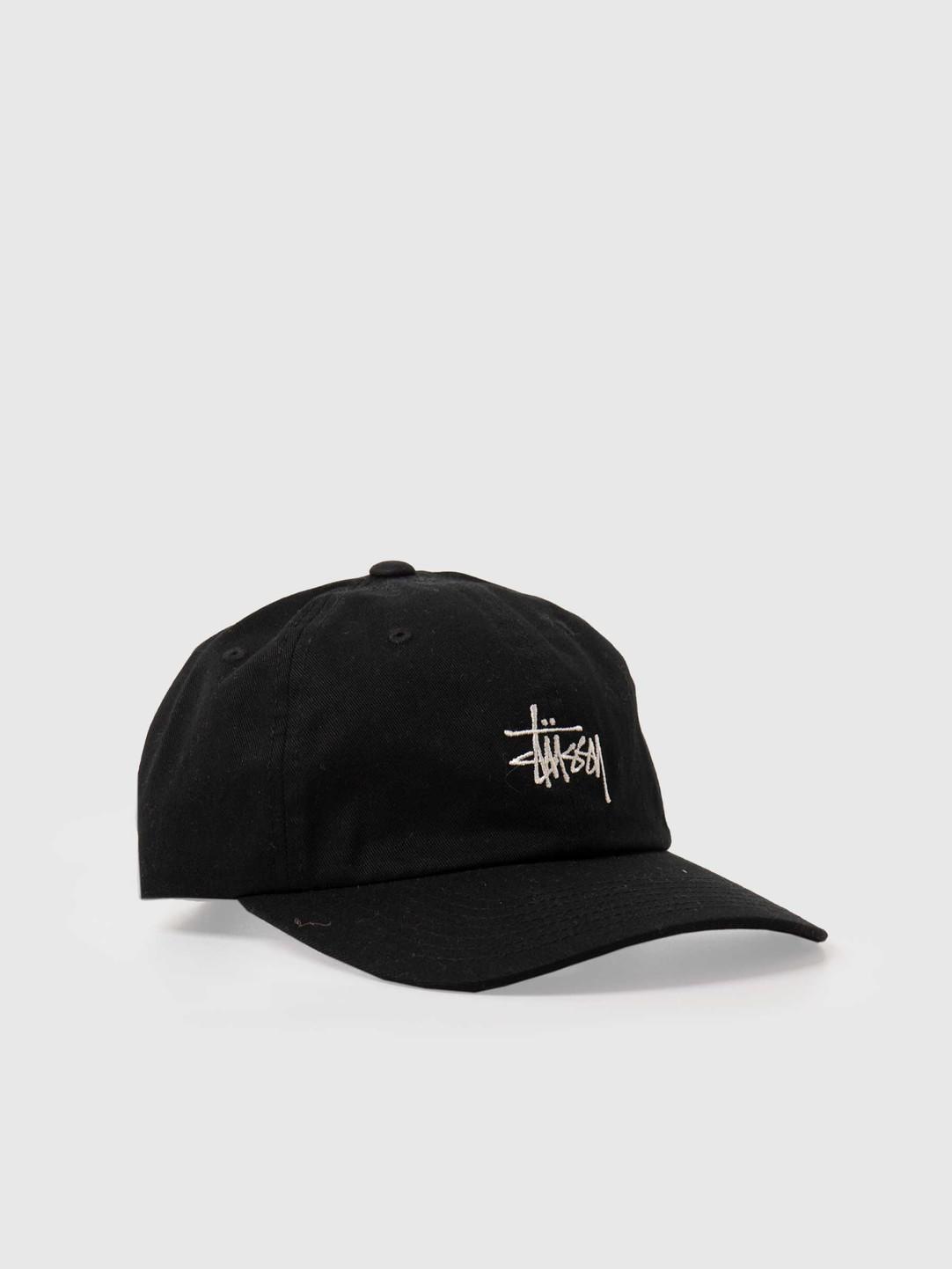 Stussy Stussy Stock Low Pro Cap Black 131955-0001