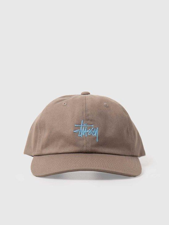 Stussy Stock Low Pro Cap Khaki 131955-1007
