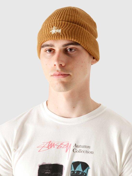 Stussy Basic Cuff Beanie Camel 132998-1030