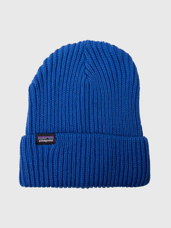 Patagonia Fishermans Rolled Beanie Alpine Blue 29105