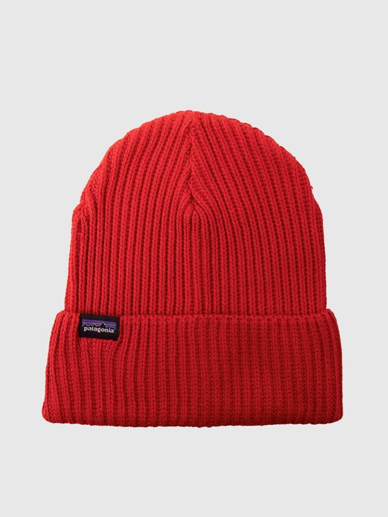 Patagonia Fishermans Rolled Beanie Hot Ember 29105