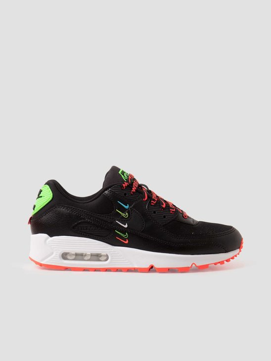Nike W Air Max 90 SE Black Flash Crimson-Green Strike CK7069-001