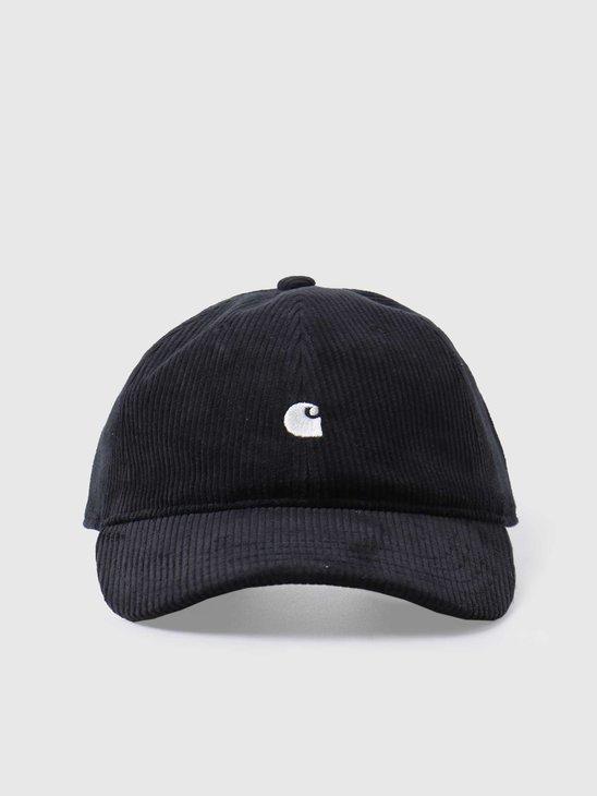 Carhartt WIP Harlem Cap Black Wax I026890-8990