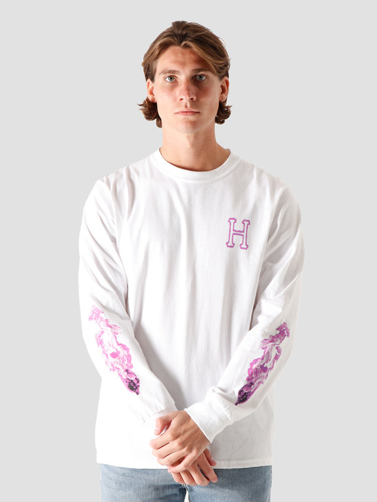 HUF Screw Head Classic H Longsleeve White TS01191-WHITE