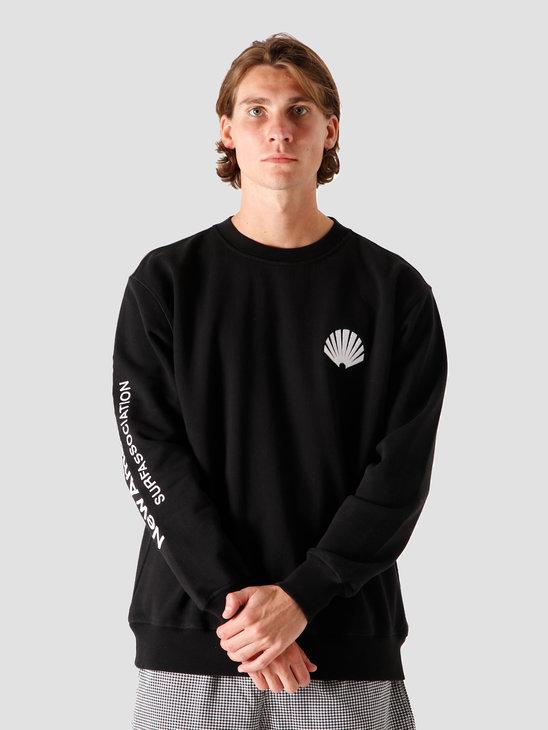 New Amsterdam Surf association Logo Sweater Black 2 2020064