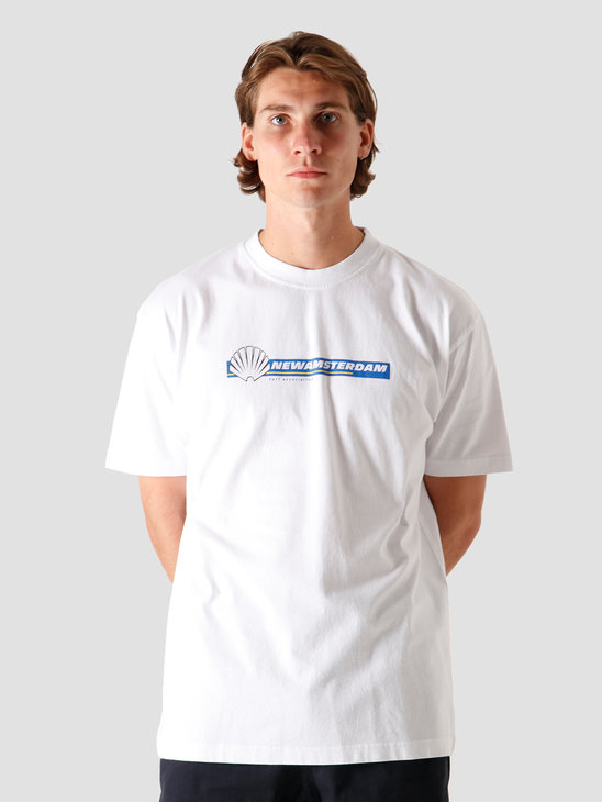 New Amsterdam Surf association Tire T-Shirt White 2020055