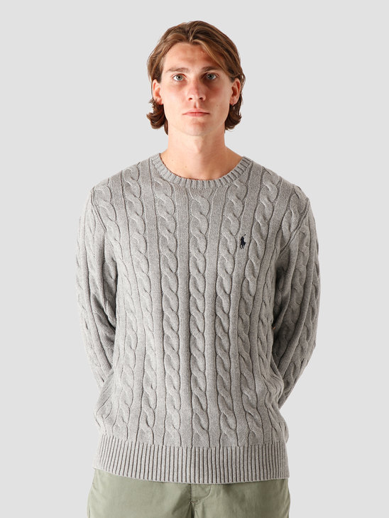 Polo Ralph Lauren Driver CN Knitted Sweater Fawn Grey Heather 710775885013