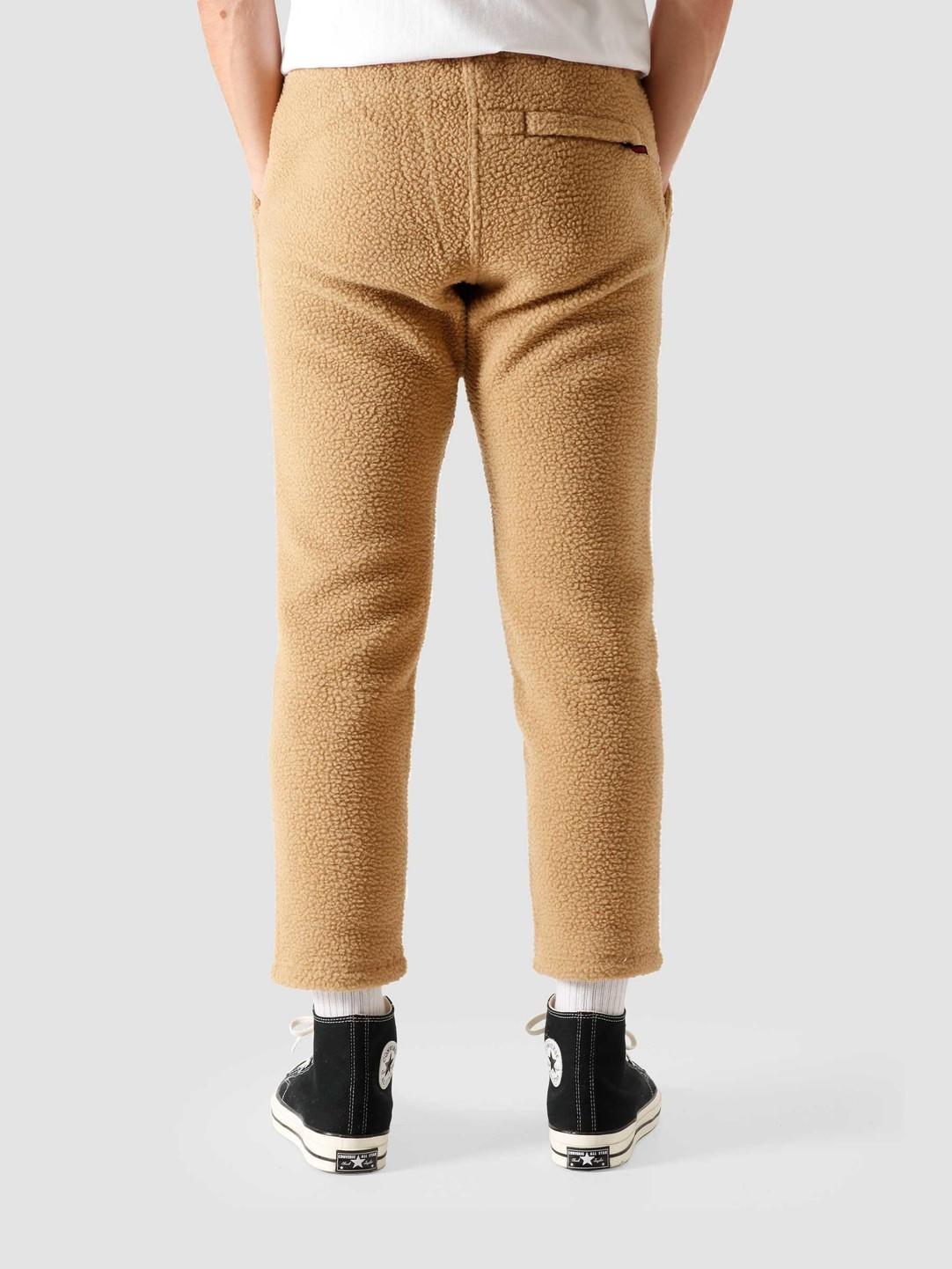 Gramicci Gramicci Boa Fleece Truck Pants Beige GUP-20F041