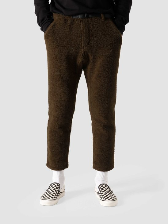 Gramicci Boa Fleece Truck Pants Olive GUP-20F041