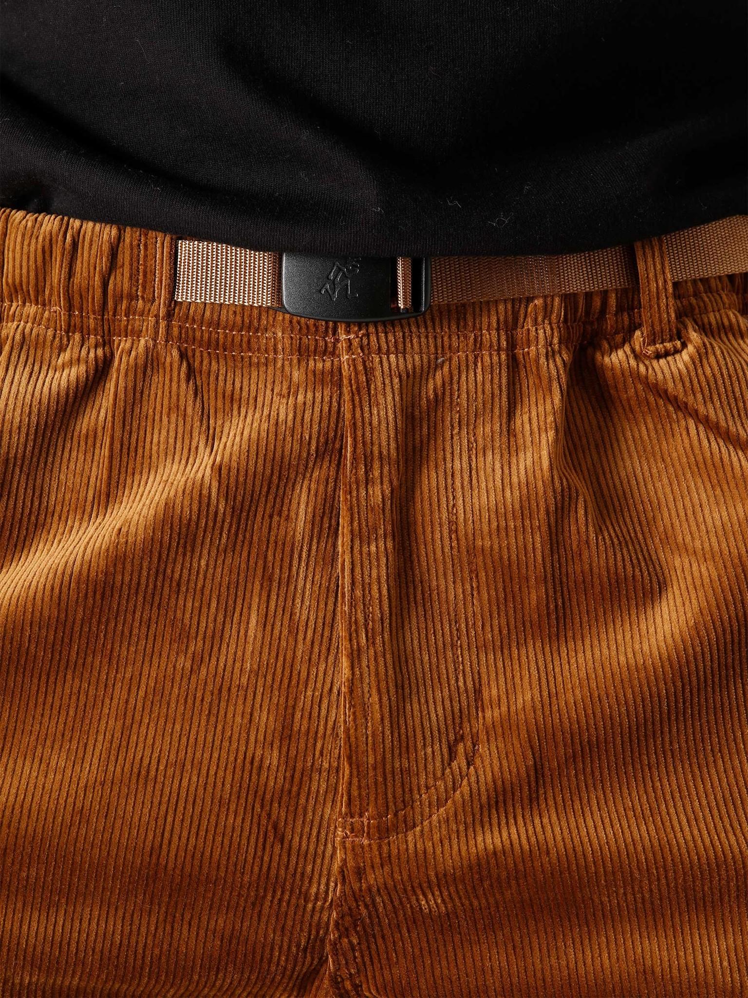 Gramicci Gramicci Corduroy Gramicci Pants Camel GMP-20F018