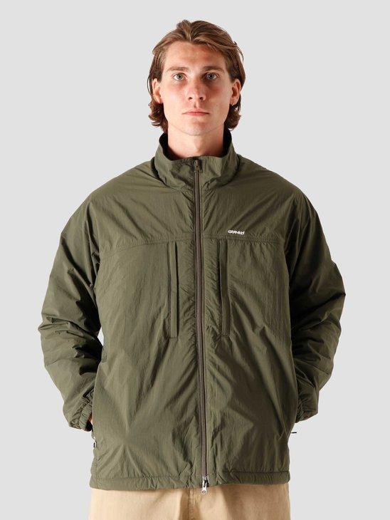 Gramicci Nylon Fleece Truck Jacket Olive GUJK-20F011