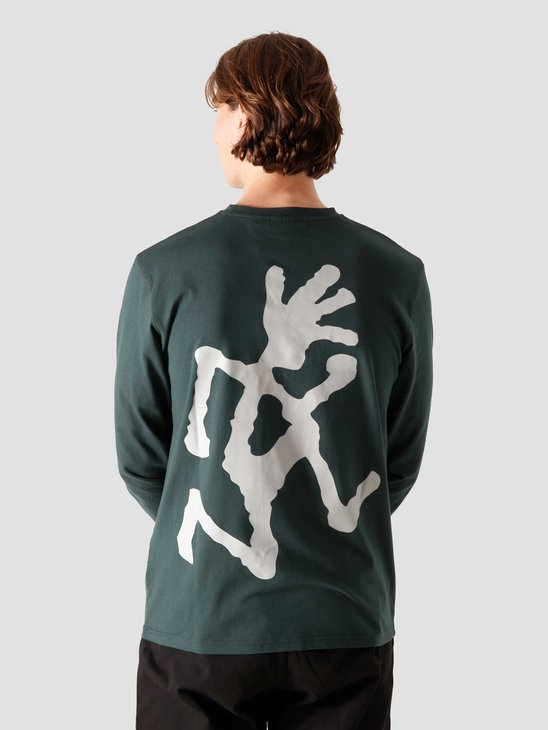 Gramicci Big Runningman Longsleeve Deep Forest GUT-20F058