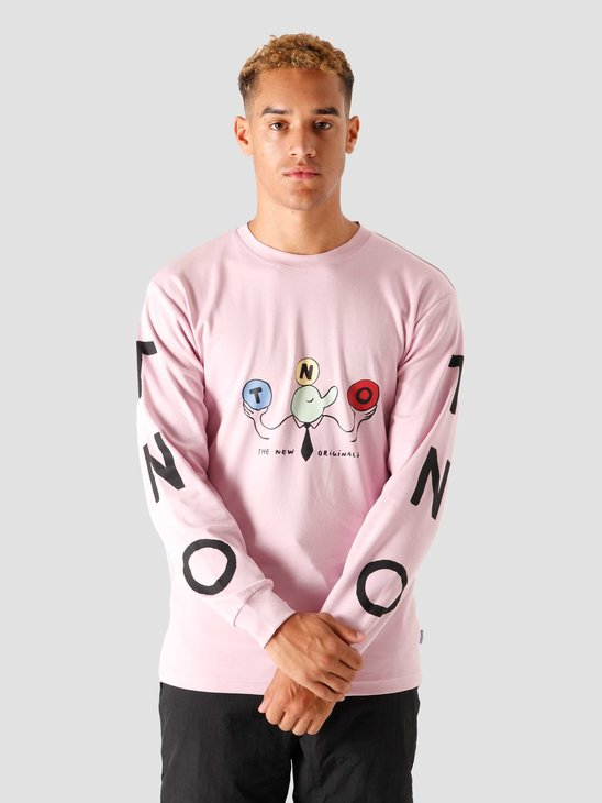 The New Originals Freddy Longsleeve Pink
