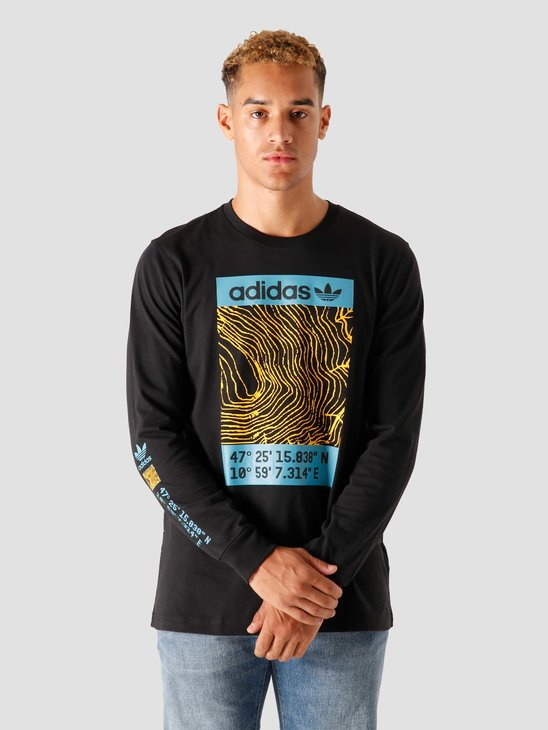 adidas Adv Longsleeve-Shirt Black GE0879