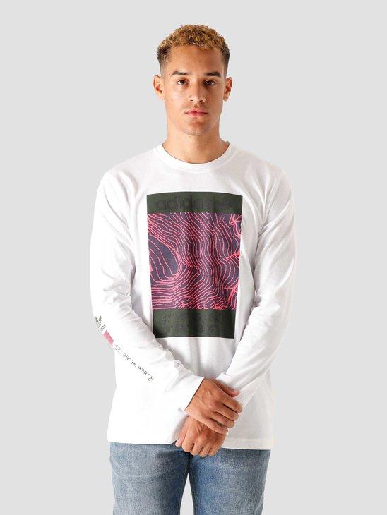 adidas Adv Longsleeve-Shirt White GD5982