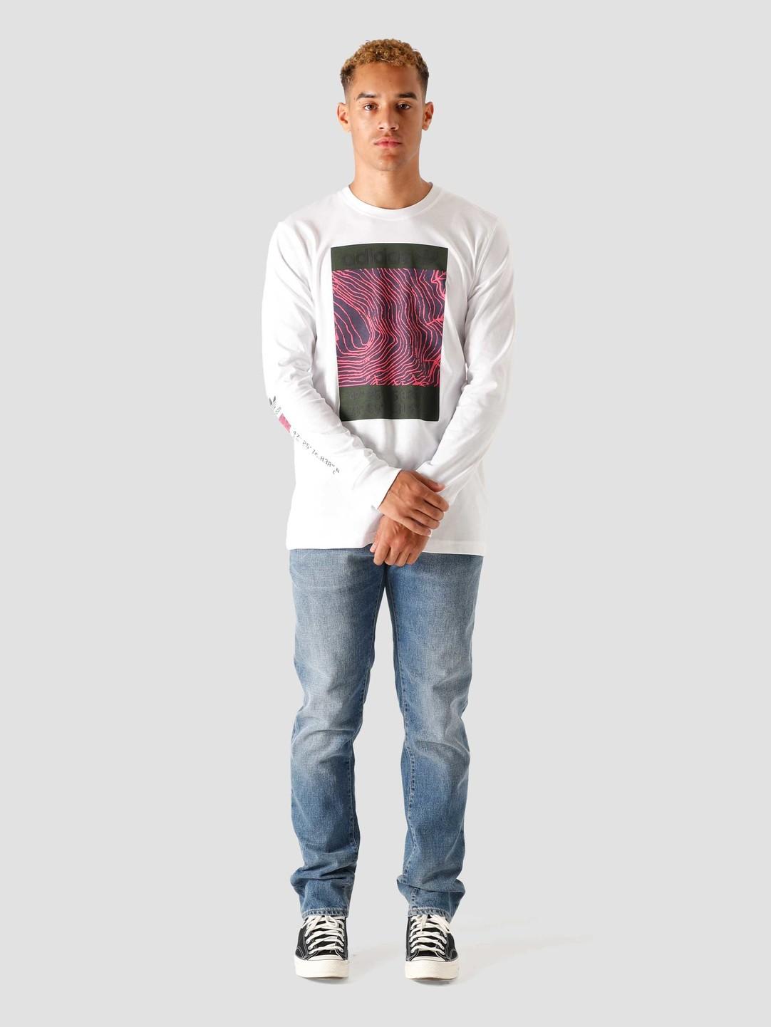 adidas adidas Adv Longsleeve-Shirt White GD5982