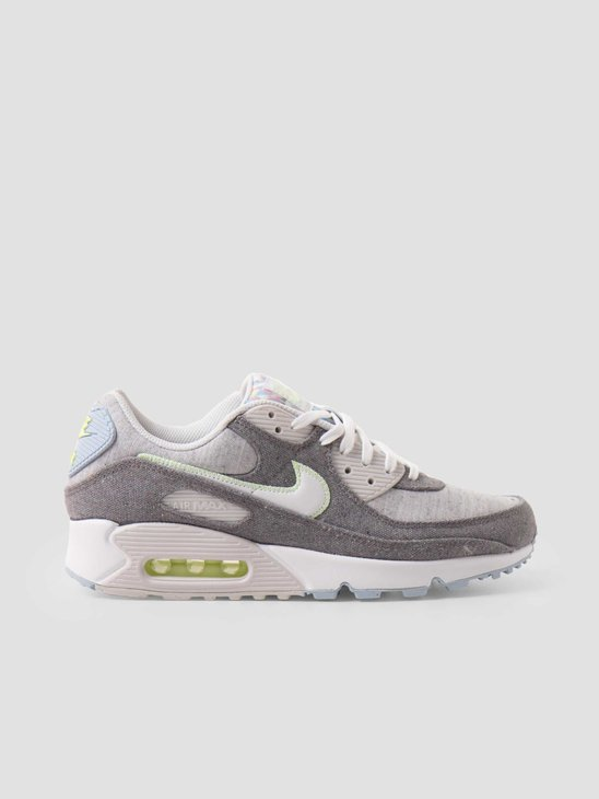 Nike Air Max 90 Nrg Vast Grey White-Barely Volt CK6467-001