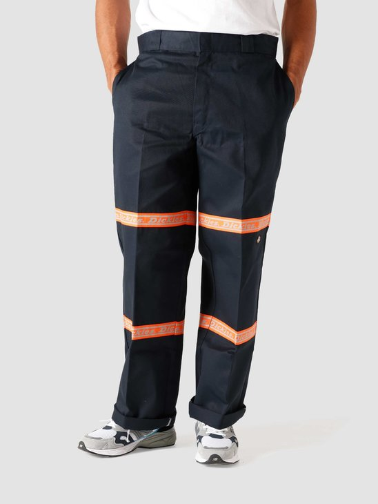 Dickies Gardere Double Knee Reflective Tape Dark Navy DK0A4X5JDNX1