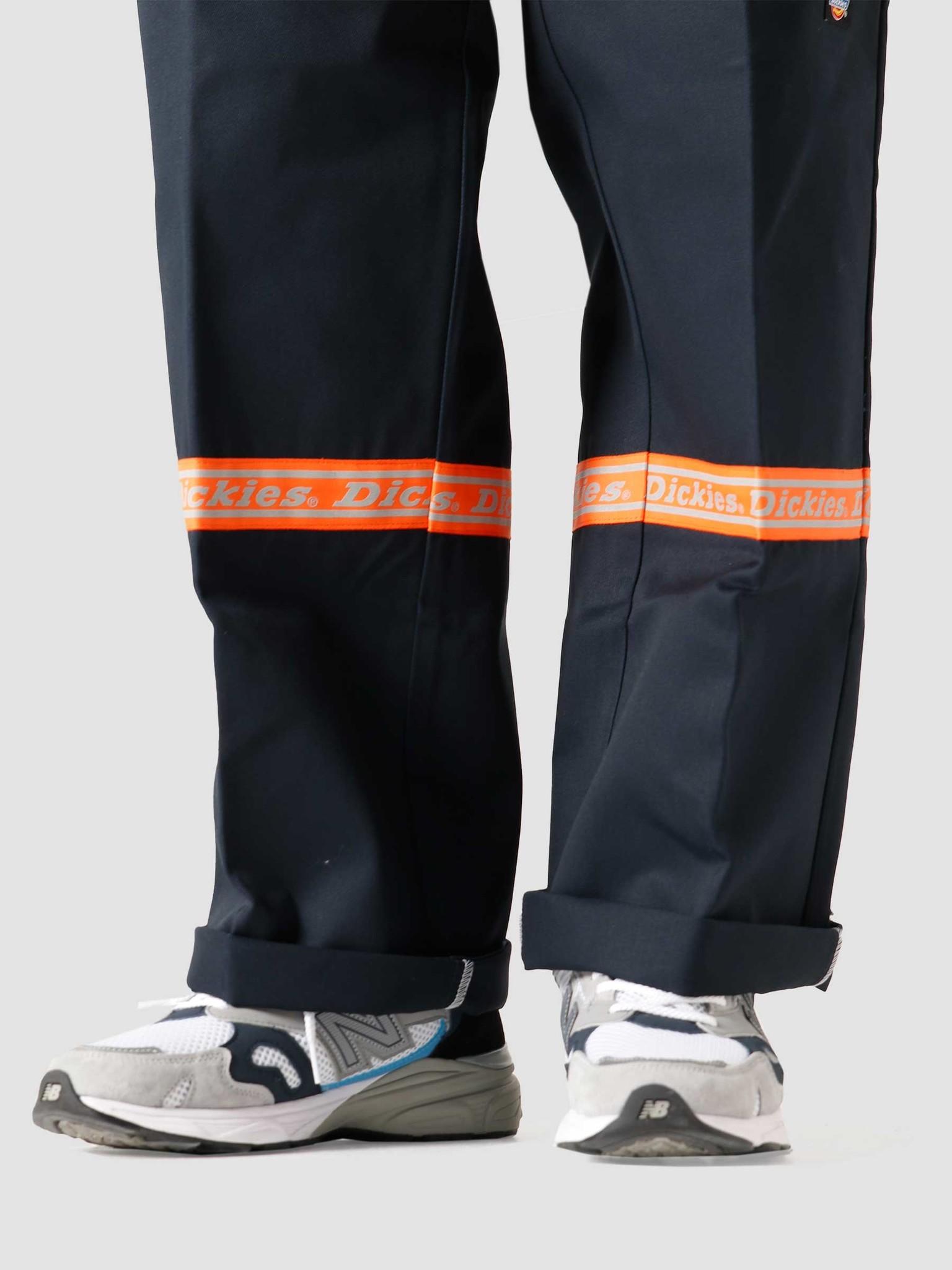 Dickies Dickies Gardere Double Knee Reflective Tape Dark Navy DK0A4X5JDNX1