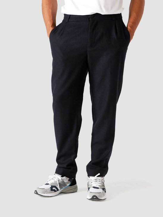 Libertine Libertine Smoke Pants Dark Navy Twill 1951