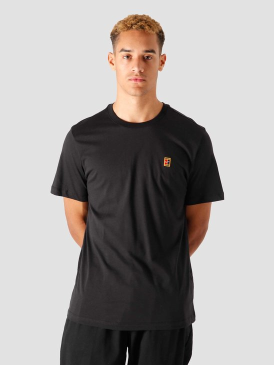 Nike Nkct Court Emblem T-Shirt Black BV5809-010