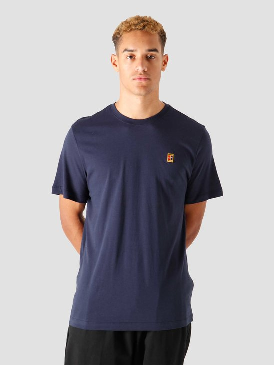 Nike Nkct Court Emblem T-Shirt Obsidian BV5809-451