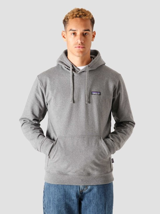 Patagonia M's P-6 Label Uprisal Hoodie Gravel Heather 39611