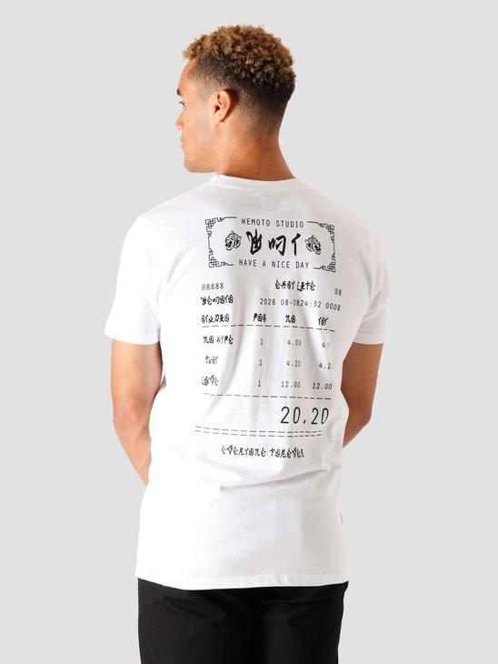Wemoto Bill T-Shirt White 161.134-200