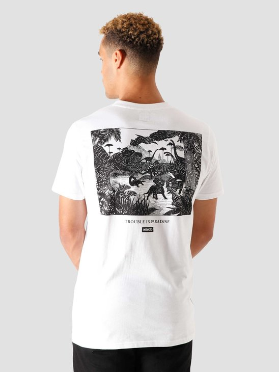 Wemoto Dinosaur T-Shirt White 161.145-200