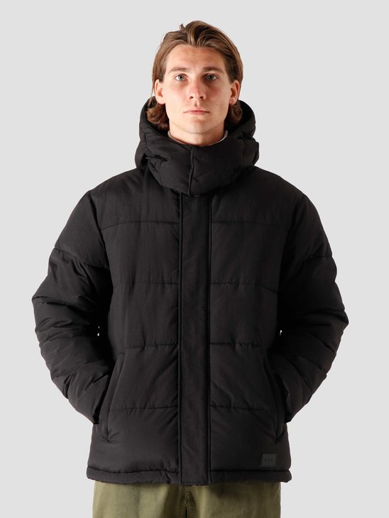 Quality Blanks QB210 Hooded Puffer Black