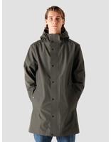 Quality Blanks Quality Blanks QB220 Rain Coat Military Green