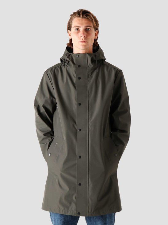 Quality Blanks QB220 Rain Coat Military Green