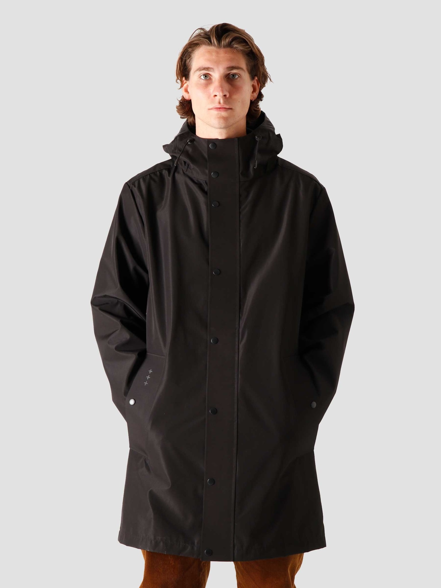 Quality Blanks Quality Blanks QB220 Rain Coat Black