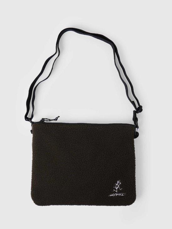Gramicci Boa Fleece Adjustable Sacoche Olive GRB-0091